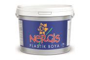 Kardelen Nergis Plastik Duvar Boyası 20 Kg - Beyaz