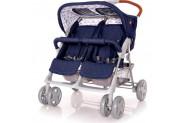 Lorelli Twin Yan Yana İkiz Bebek Arabası - Lacivert