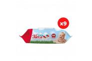 Baby Turco Islak Mendil Havlu 9X100 Yaprak