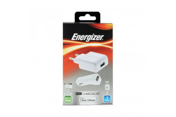 Energizer 31UEUCIP2 iPhone/iPod 3 In 1 Ev Araba Şarjı ve Kablosu
