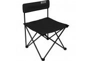 Romee Kolsuz Katlanır Bahçe Kamp Sandalyesi - Siyah