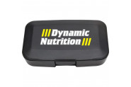 Dynamic Nutrition Dynamic Pillbox Tablet Kutusu - Siyah