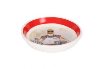 Çerezlik-sosluk porselen garson desen 10x10x3cm