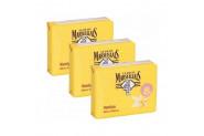 Le Petit Marseillais Sabun Vanilya Sütü Özlü 3 x 90 gr