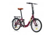 Corelli Pocket 1.0 7V 20 Jant Katlanır Bisiklet - Mor