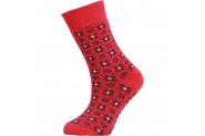 Panthzer Casual Wool Kadın Çorap Kırmızı - 35 - 38