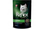 Reflex Plus Tavuklu Gravy Soslu Pounch Kedi Konservesi 100 Gr