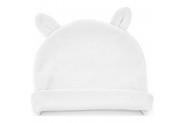Babyjem Yenidoğan Bebe Şapka Kulaklı Beyaz