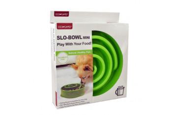 Dog Games Slo-Bowl Yavaş Yeme İçin Köpek Mama Kabı 4 Kap Yeşil