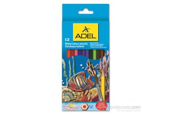 Adel Aquarell Boya Kalemi 12 Renk 2162610000