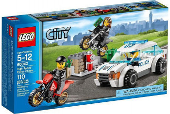 Lego High Speed Police Chase