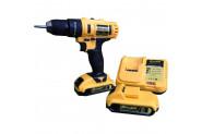 Bauer Power Tools 32 Volt 5.0 Amper Çift Akülü 20 Parça Uc Setili Şarjlı Vidalama Matkap