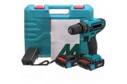 Bauer Power Tools 32 Volt 5.0 Amper Çift Akülü Şarjlı Vidalama Matkap