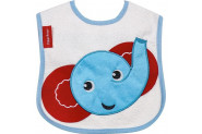 Fisher-Price Bebek Fil Figürlü Önlük - Mavi