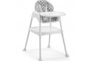 Moje Mama Sandalyesi (Kılıflı Set) - Gri