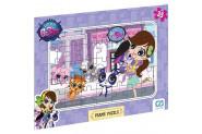 Ca Games Littlest Pet Shop 35 Parça Frame Puzzle - 5018