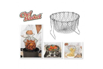 Anka Chef Basket Çok Fonksiyonlu Pratik Süzgeç
