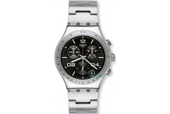 Swatch Blustery Black Stainless YCS564G
