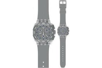 Swatch Gray Hero Chronograph Gray SUIM402