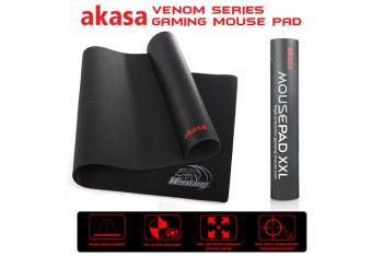 Akasa Venom Black XXL 890x450mm High Precision Oyuncu Mousepad AK-MPD-01BK