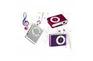 Pratik Mini Mp3 Player Hafıza Kart Okuyuculu (Kulaklık Hediyeli)