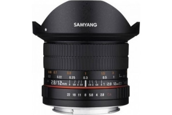 Samyang 12mm f/28 ED AS NCS Fisheye Canon