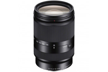 Sony E18-200mm F35-63 High Magnification Zoom