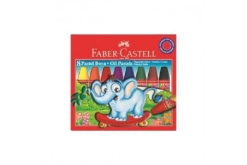 Faber Castell Redline Karton Kutu Pastel Boya 8 Renk
