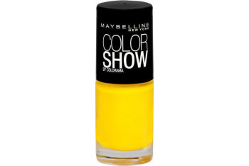 Maybelline New York Color Show Oje 749 Electric Yellow