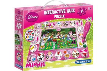 Clementoni Quiz Puzzle Minnie Mouse 35