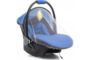 Bebebebek Lüx Pedli Bebek Oto Koltuğu Cibinlikli - Mavi