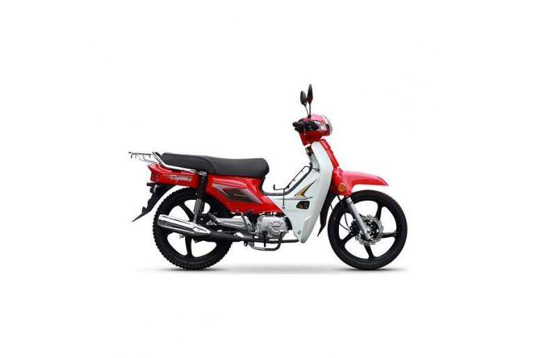Kanuni Tigirina 50 Motorsiklet - Kırmızı