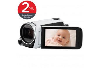 Canon Legria HF-R606 Dijital Video Kamera Essential Pack - Beyaz