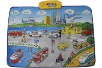 Birlik Oyuncak Eğitici Trafik Halısı