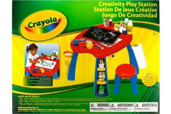Crayola Çok Fonksiyonlu Oyun ve Resim Masası