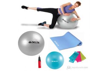 Delta Ultra-Deluxe Dura-Strong Full Pilates Seti X-1