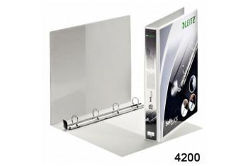 Esselte Klasör Softclick 4 Halka Dar Beyaz 42001001