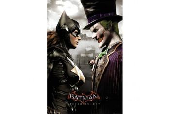 Batman Arkham Asylum Joker Vs. Catwoman