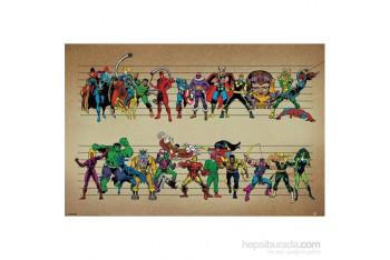 Maxi Poster Marvel Comics Line Up