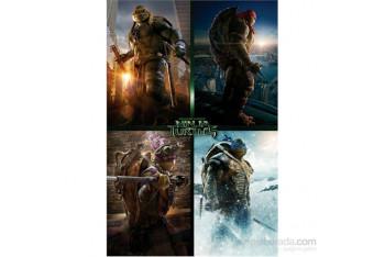 Ninja Turtles Movie Quad Maxi Poster