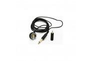 Yaprak Mikrofon Vakumlu Kaliteli Kalın Kablo 3 Metre