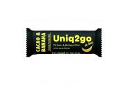 Uniq2go In Love Kakaolu ve Muzlu Protein Bar 32 Gr