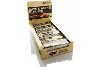 Optimum Oats Whey Flapjack Protein Bar 70 gr 12 Adet