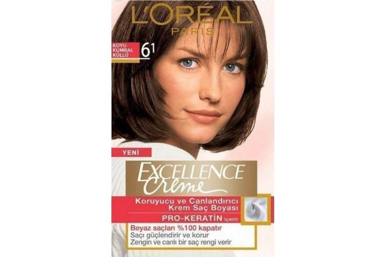 Loreal Excellence Creme 6 1 Koyu Kumral Küllü Saç Boyası Fiyatları