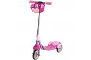 Furkan Toys Karlar Ülkesi Prenses 3 Tekerli Frenli Sepetli Scooter - Pembe