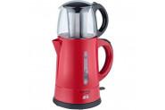 Awox Teaplus Kırmızı Elektrikli Demlikli Çay Makinesi