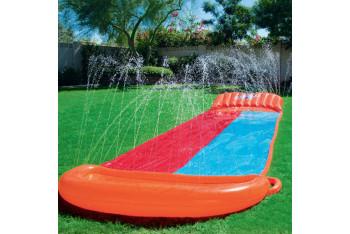 bestway İki Kişilik Şişme Su Fıskıyeli Çocuk Su Kaydırağı 52199