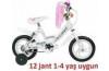 Gomax Pembe Çocuk Bisikleti