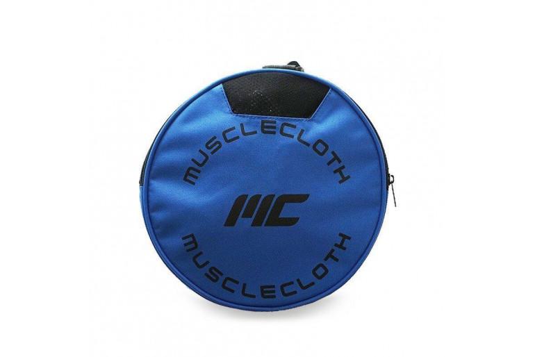 MuscleCloth Fitness Silindir Spor Çanta Mavi
