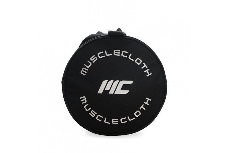 MuscleCloth Fitness Silindir Spor Çanta Siyah